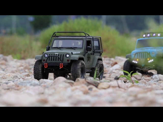 1/10 Scale - Jeep Rubicon Brother - The last festival on the river