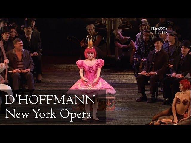 J.Offenbach - Les Contes d'Hoffmann (Calleja - Netrebko - Kim - Gubanova / Levine)