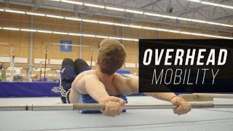 5 Exercises to improve Overhead Mobility for Handstands!