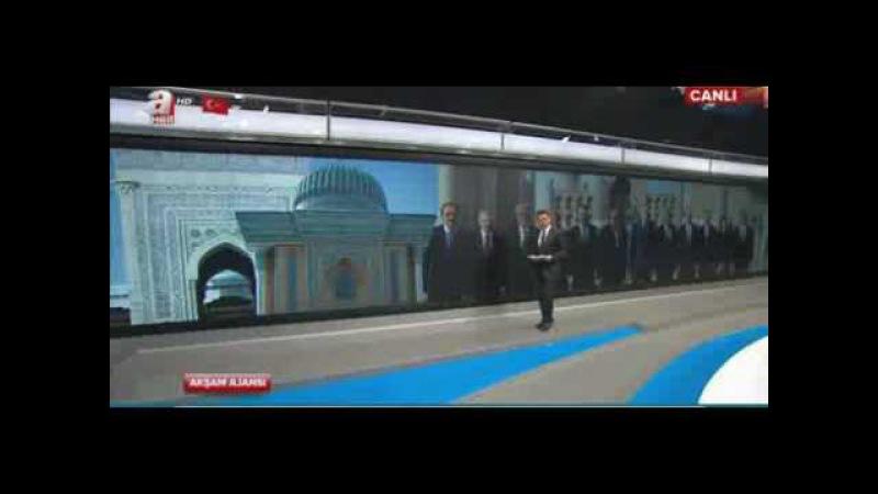 Recep Tayyip Erdoğan ozbekistan ziyareti