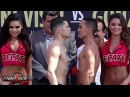 FULL & UNCUT- CARLOS CUADRAS VS GALLO ESTRADA WEIGH IN AND FACE OFF VIDEO