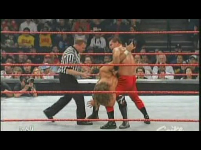 (WWEWM) WWE Monday Night RAW 16.02.2004 - Shawn Michaels vs. Chris Benoit