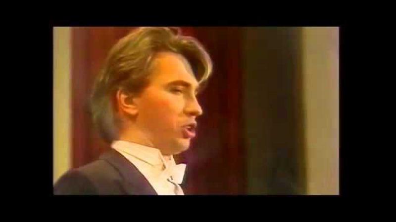 "Хворостовский   Hvorostovsky ""Bella siccome un angelo"" Don Pasquale, Donizetti 1991"