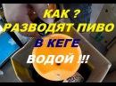 Пиво ШМУРДЯК или как развести пиво в кеге водой. How to dilute beer in a keg with water.