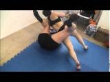Female Wrestling Red Devils Revenge vs Tall Amazon