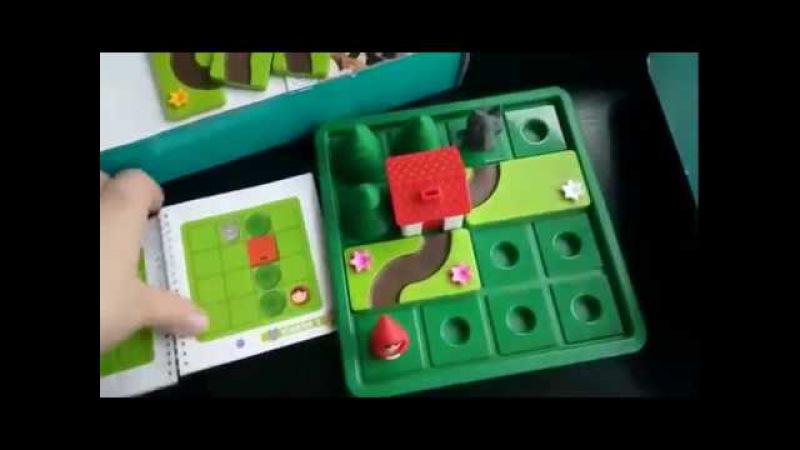 Логическая игра Красная Шапочка и серый волк BondibonSmart Games