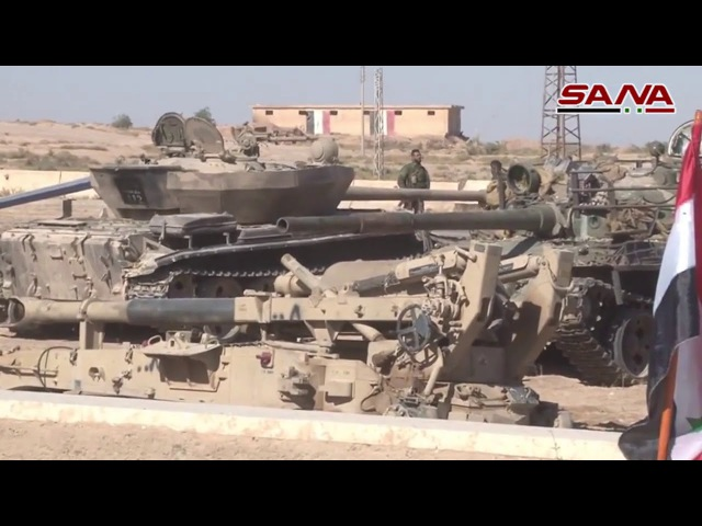 SAA have captured gigantic amount of weapons in Mayadeen