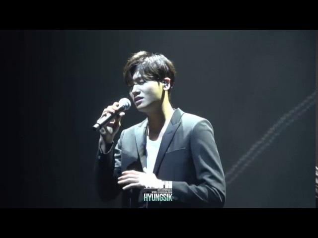 Park Hyung Sik Sing Sweet Lyric In Fan Meeting