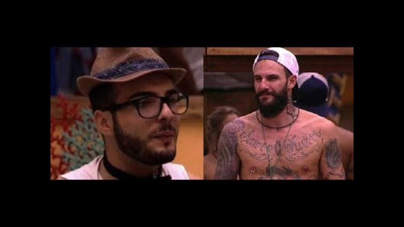 BBB18 Wagner saiu do armário Mahmoud revelou intimidade com o brother VENTO GRANDE
