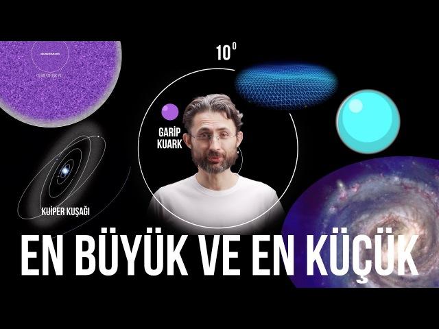 Evrende gözlemlenebilen en büyük ve en küçük şey nedir