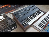 Oscillator-Sync comparsion - Monophonic Analog Synthesizer - ARP Moog Sequential
