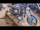 Привод и пляски с редукторами. Мотоцикл V8. Серия 2.