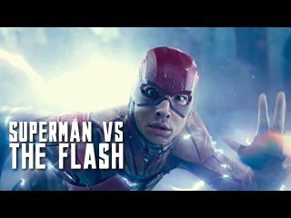 JUSTICE LEAGUE - Superman vs. The Flash Fight Scene - Part 3 (HD) 2017