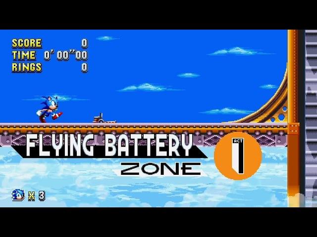 🔥 Sonic Mania - Flying Battery Zone (Trailer 2)