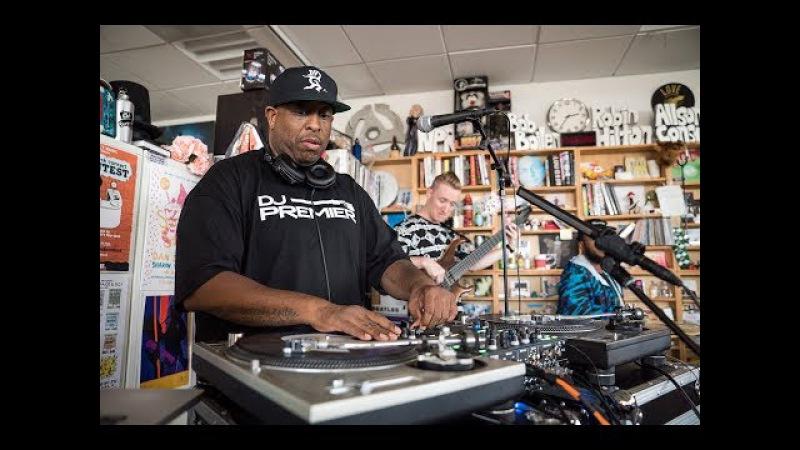 DJ Premier The Badder Band NPR Music Tiny Desk Concert