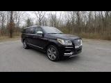 2018 Lincoln Navigator L Black Label Walk Around Video In Depth Review Test Drive