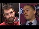 Kevin Love Tyronn Lue Postgame Interview Cavs vs Timberwolves Jan 8 2018 2017 18 NBA Season