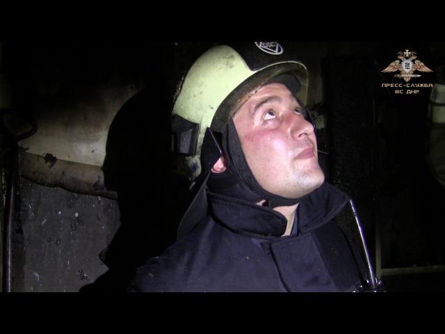 Обстрел частного сектора в районе ж/д вокзала г. Донецка