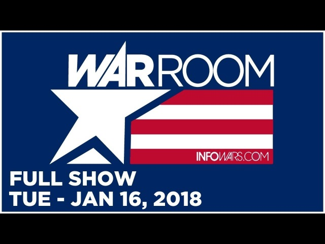 WAR ROOM SHOW (FULL SHOW) Tuesday 1/16/18: BREAKING Trump in Excellent Health, Roger Stone