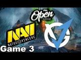 NaVi vs VGJ (Game 3) PGL Open Bucharest Dota 2