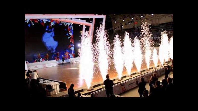 Голос дети (П. Дмитренко, Я.Дегтярева, К. Скрипник, М. Панюкова, ) на Чемпионате Европы по танцам