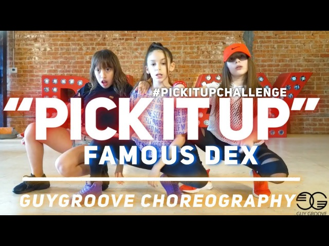 Pick It Up pickitupchallenge | @famousdex @asaprocky | @GuyGroove Choreography