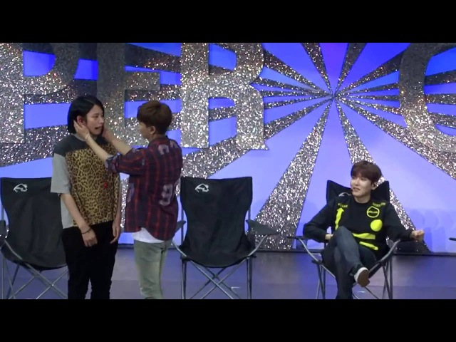 20160528 super camp in Macau leeteuk heechul's part fall in love with fans