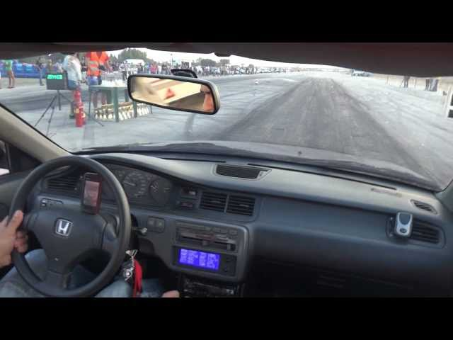 Honda Civic EG9 Turbo Drag Santarem 08/09/2012