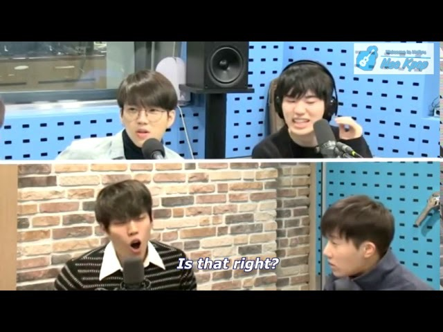 [ENG] 동우가 생각하는 성규가 섹시할때 When Dongwoo Thinks Sunggyu Is Sexy