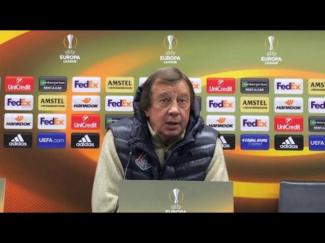 Юрий Семин Ницца имеет преимущество перед ответным матчем