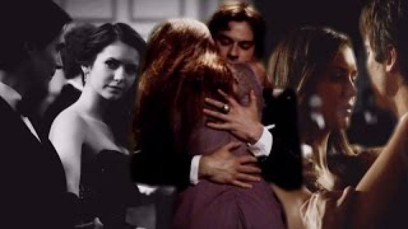Damon and Elena | their dances [1x01-8x16]