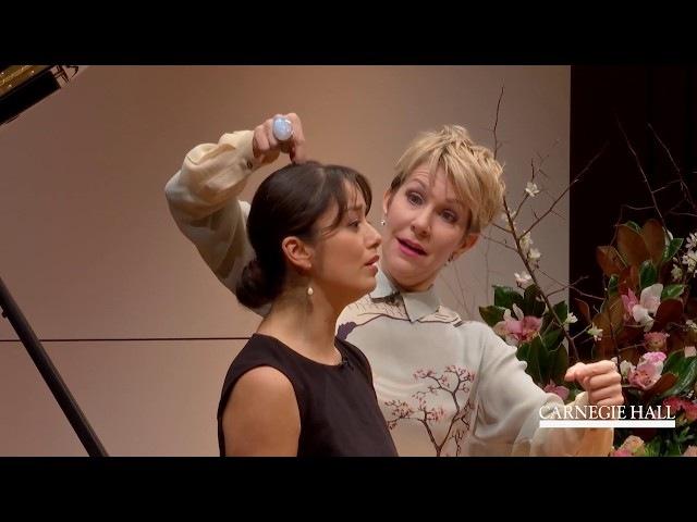 """Joyce DiDonato Master Class January 2016: Verdi's """"Canzone del Salice"""" from Otello"""