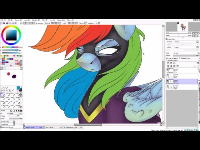ShadowBolt Dash {MLP Speedpaint}