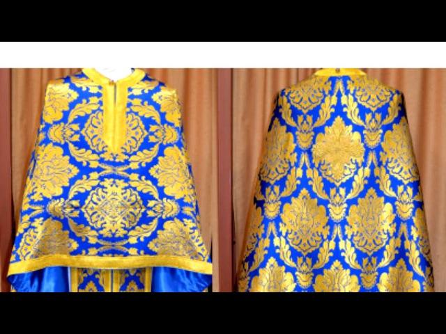 Blue Clerical Vestments 2018, Ιερατικά άμφια απο το e-amfia.gr