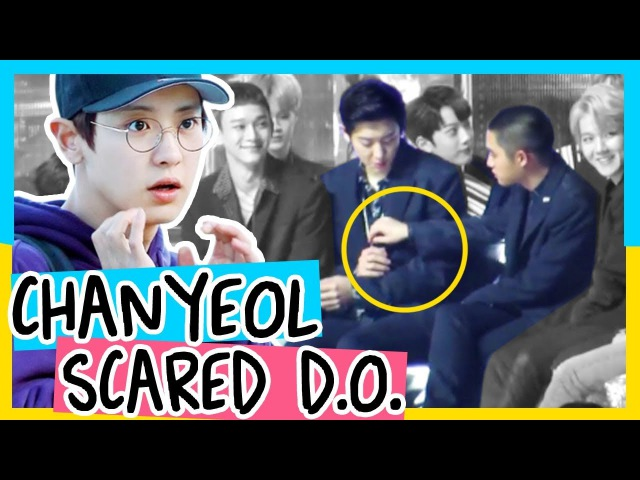 [EXO] Chanyeol Scared of D.O.(Kyungsoo) FUNNY MOMENT