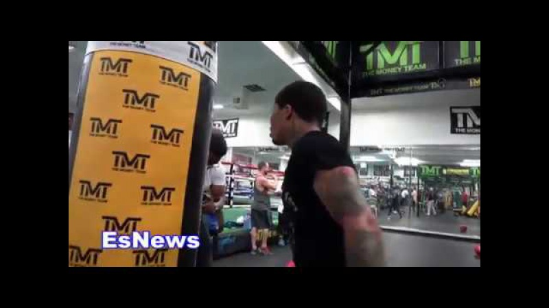 EPIC Gervonta Davis Must See Workout Speed And Power Unreal EsNews Boxing