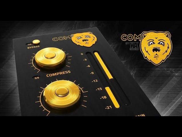 ComBear | FREE Paraller Compressor Win Mac VST Plugin!