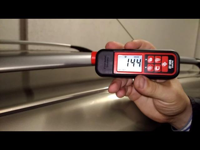 Видео о том для чего нужен толщиномер как им пользоваться