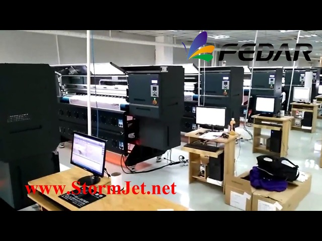 Fedar 6194E with 4 pcs Epson 5113 print heads 3200DPI