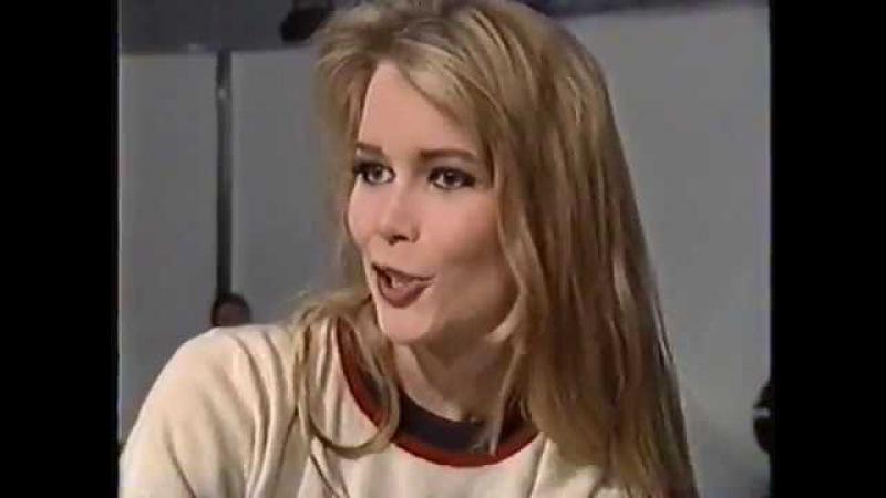 Клаудия Шиффер в 1992 году