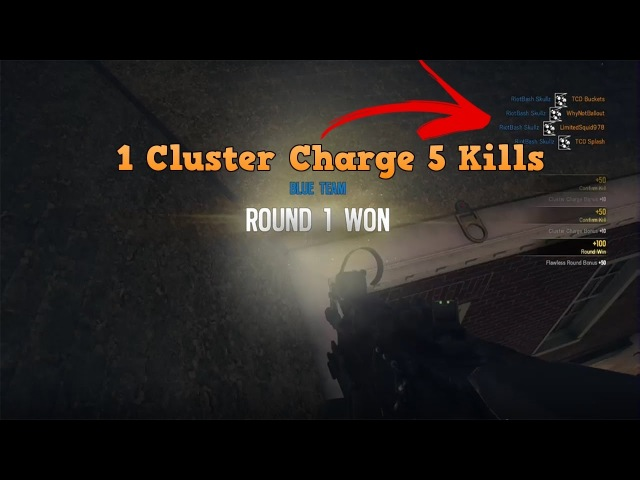 1 Cluster Charge - 5 Kills Rainbow Six Siege - Fuze Cluster Charge Ace