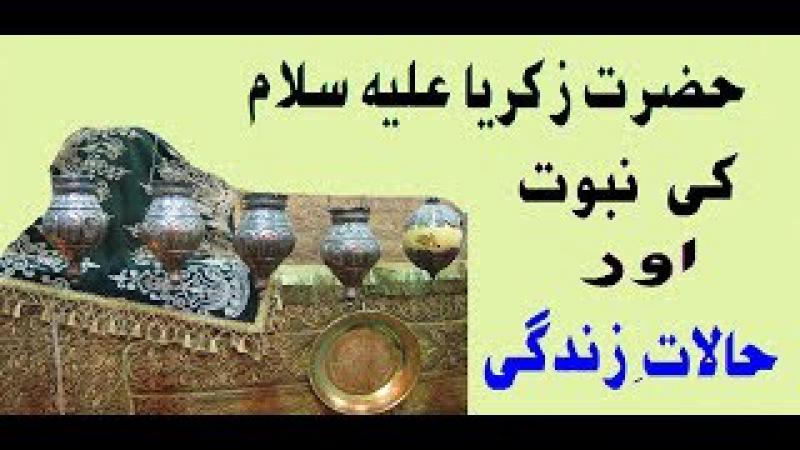 Hazrat Zakria Ale Salm K Bary Mein Aik Ehm Malomati Video