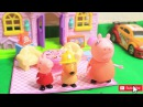 Peppa Pig English Episodes in Toy City - Christmas Surprise from Santa Claus - VOVA Toys