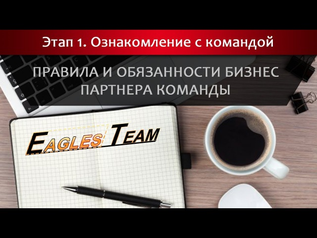 Правила и обязанности бизнес партнера команды Eagles Team