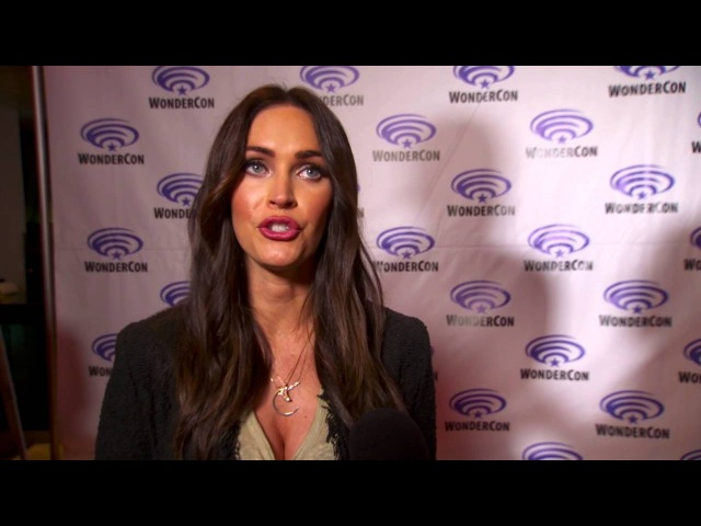Teenage Mutant Ninja Turtles: Out of the Shadows: Megan Fox Wondercon Interview