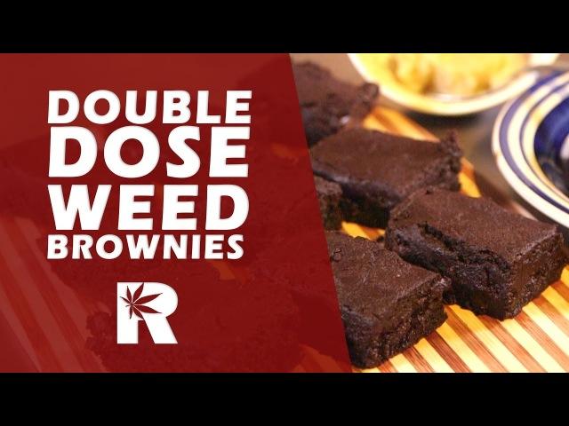 Double Dose Chocolate Marijuana Brownies (Strong Weed Brownies): Cannabasics 48 highway420