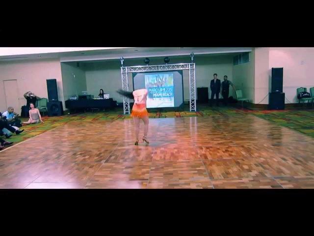 Jessica Lamdon Solo Performance at the 2015 International Miami Zouk Festival