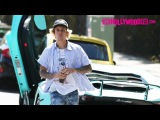Justin Bieber Strikes A Deal With Paparazzi To Leave Him Alone When Spotted In His New Lamborghini