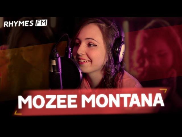 MOZEE MONTANA — про женский рэп, работу сутенером и собственный рынок RhymesFM