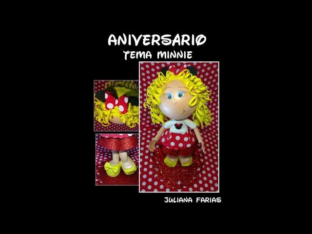 Aniversario Tema Minnie Parte 1 Prof a Juliana Farias
